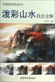 中国画名家技法丛书:泼彩山水技法全解