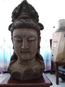 清或明代大型木雕佛像(等待有缘人)