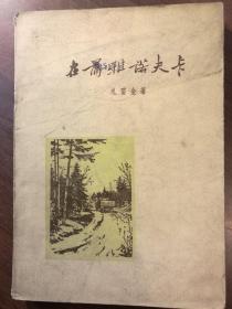 在蒲亚诺夫卡——1954年春天·特写集