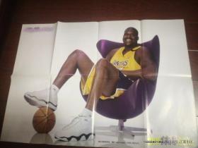 篮球海报收藏 当代体育随423期独家奉送  沙奎尔奥尼尔