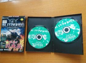 突袭3 游戏 闪电战  简体中文版  2张光盘