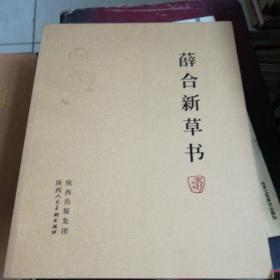 薛合新草书