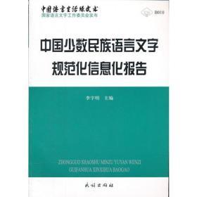 中国少数民族语言文字规范化信息化报告