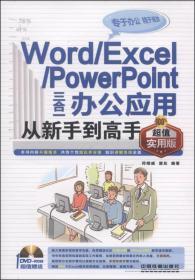 Word/Excel/Powerpoint三合一办公应用从新手到高手