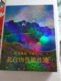跃动林海寻秘长白——长白山鲁能胜地【有外盒套*精装*2017年一版一印】   画案01