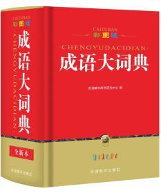 彩图版成语大词典(32开)
