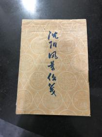 五十年代沈阳风景信笺 存46张其中有一张使用有字迹其他无字迹共有5种图案 图案应该是雕刻版 孤品非常少见珍贵