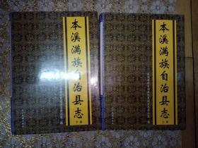 本溪满族自治县志(上下)