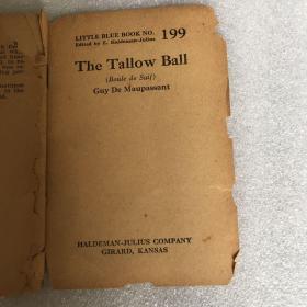 Little blue book no.199:The tallow ball 脂球