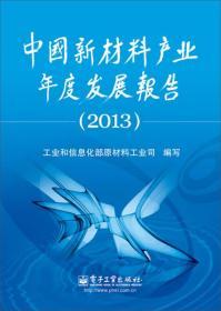 9787121213717-hs-中国新材料产业年度发展报告 2013