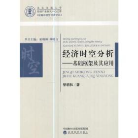 经济时空分析——基础框架及其应用