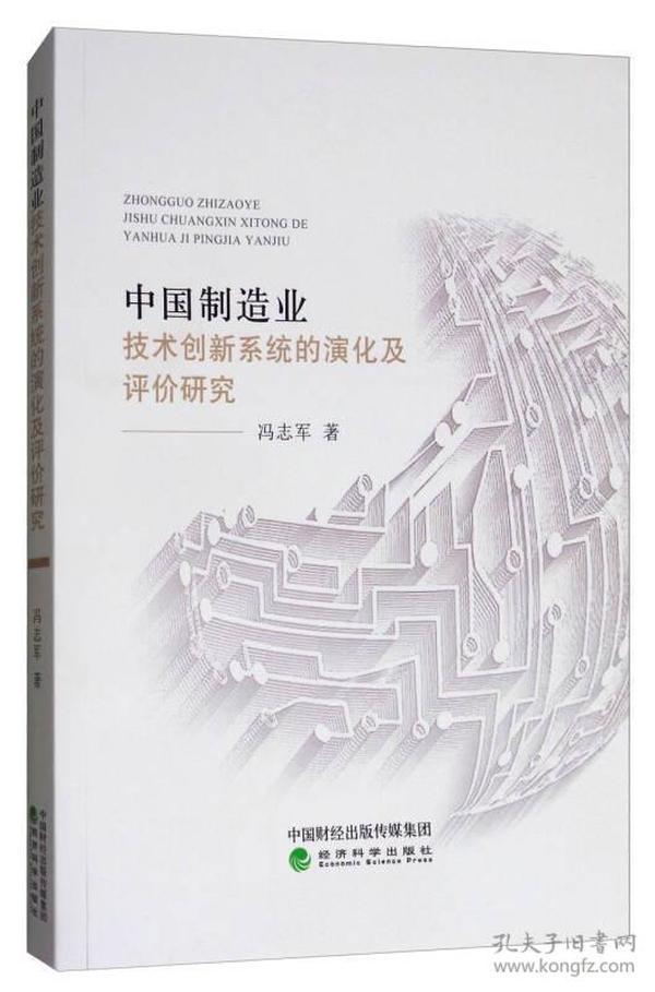 中国制造业技术创新系统的演化及评价研究