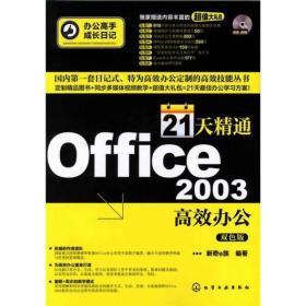 办公高手成长日记:21天精通Office 2003高效办公