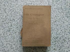 John Christopher II :Storm and Stress  品相如图  请阅图免争议