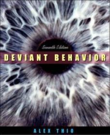 Deviant Behavior  Seventh Edition