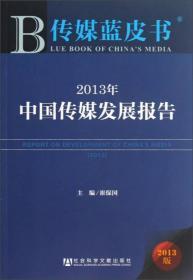 2013年中国传媒发展报告