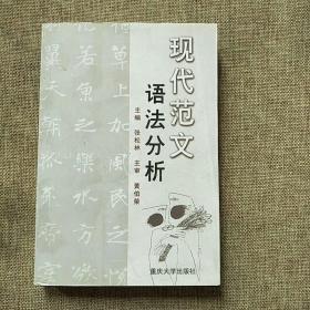 现代范文语法分析