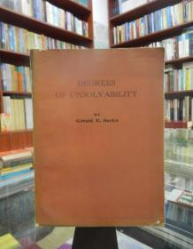 Degrees of unsolvability 英文版(不可解性的度)