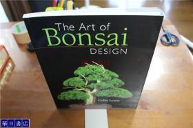 英语原版书The Art of Bonsai Design 盆栽艺术  盆栽设计   大16开  包邮
