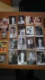 50年代华侨老照片等21张