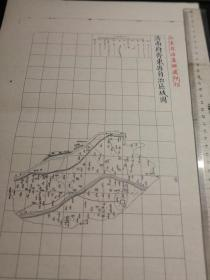 济南府邹平县自治区域图【该地最早的按比例尺绘制的地图】包邮