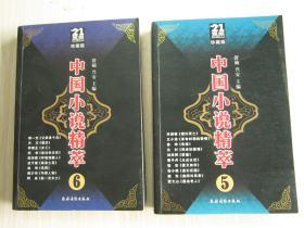 中国小说精粹5/6     2本合售