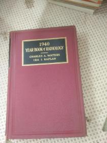 YEAR BOOK of   RADIOLGY1940