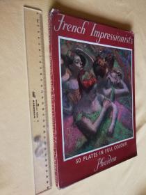 <法国印象派画家作品50幅>the french Impressionists 50 plates in full colour