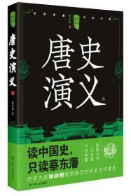 中国历代通俗演义:唐史演义(上)