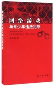 正版现货 网络游戏与青少年违法犯罪 金泽刚 上海三联