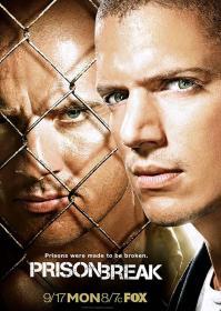 Prison Break Season 3 越狱第3季/破茧狂龙 盒装 (6DVD)