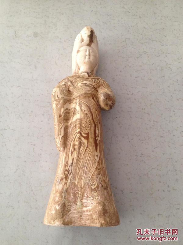 唐代仕女   絞胎陶瓷