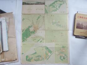 杭州游览图(1961年9月第2版第1次)
