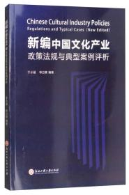 新编中国文化产业政策法规与典型案例评析 9787517823124