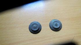 老挂钟表柳钉配件----------2件(货号247)