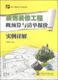 装饰装修工程概预算与清单报价实例详解 张国栋 上海交9787313115515