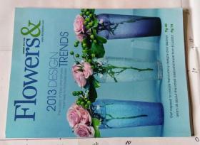 Flowers &  2013/01 插花装饰杂志 英文原版花束捧花