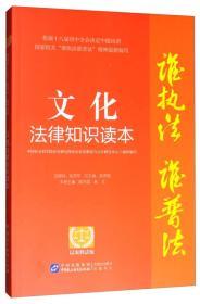 谁执法谁普法系列丛书:文化法律知识读本(以案释法版)