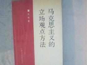 马克思主义的立场观点方法 作者王任重签赠本