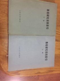 鲁迅研究资料索引(上下册)