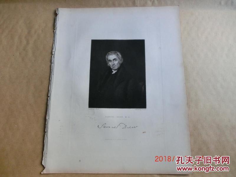 ���拌揣 ������1844~46骞撮�㈢���汇�� The Rev. Samuel Drew, M. A.  ��   灏哄��21�27��绫�