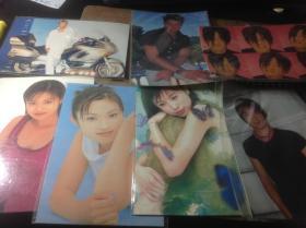 31张明信片,有谢霆锋,林心如,刘德华等,官方正版的