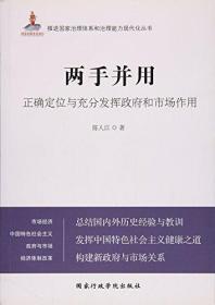 两手并用(正确定位与充分发挥政府和市场作用)/推进国家治理体系和治理能力现代化丛书