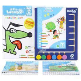 逻辑狗儿童思维升级游戏系统5-6岁尊享装(家庭版·盒式)