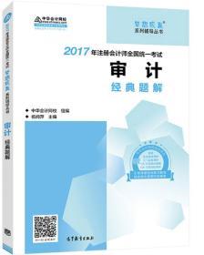 2017年注册会计师全国统一考试 审计 经典题解