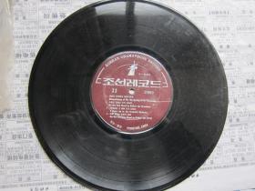 原版朝鲜唱片   8   有塑料外套