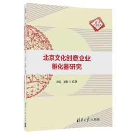 正版库存 北京文化创意企业化器研究