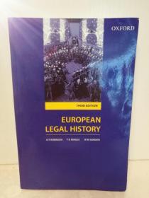 牛津大学 欧洲法律史 European Legal History Sources and Institutions (法律) 英文原版书