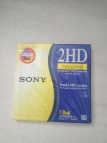 索尼软盘 SONY电脑磁盘 软磁盘(绣花机纺织机等用)  3.5寸软盘 未开封