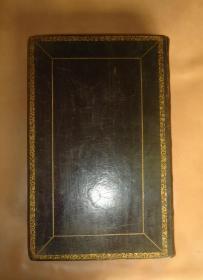 1831年《神圣经典》大象对开本 全铜版画插图本 黑色全小牛皮装桢 硕大无朋 金碧辉煌 绝世珍本 大量古铜版画